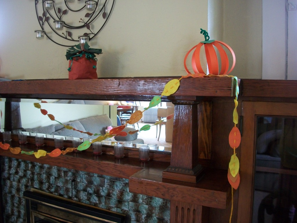 Use Your Paper Pumpkins To Add Color And Fun To Your