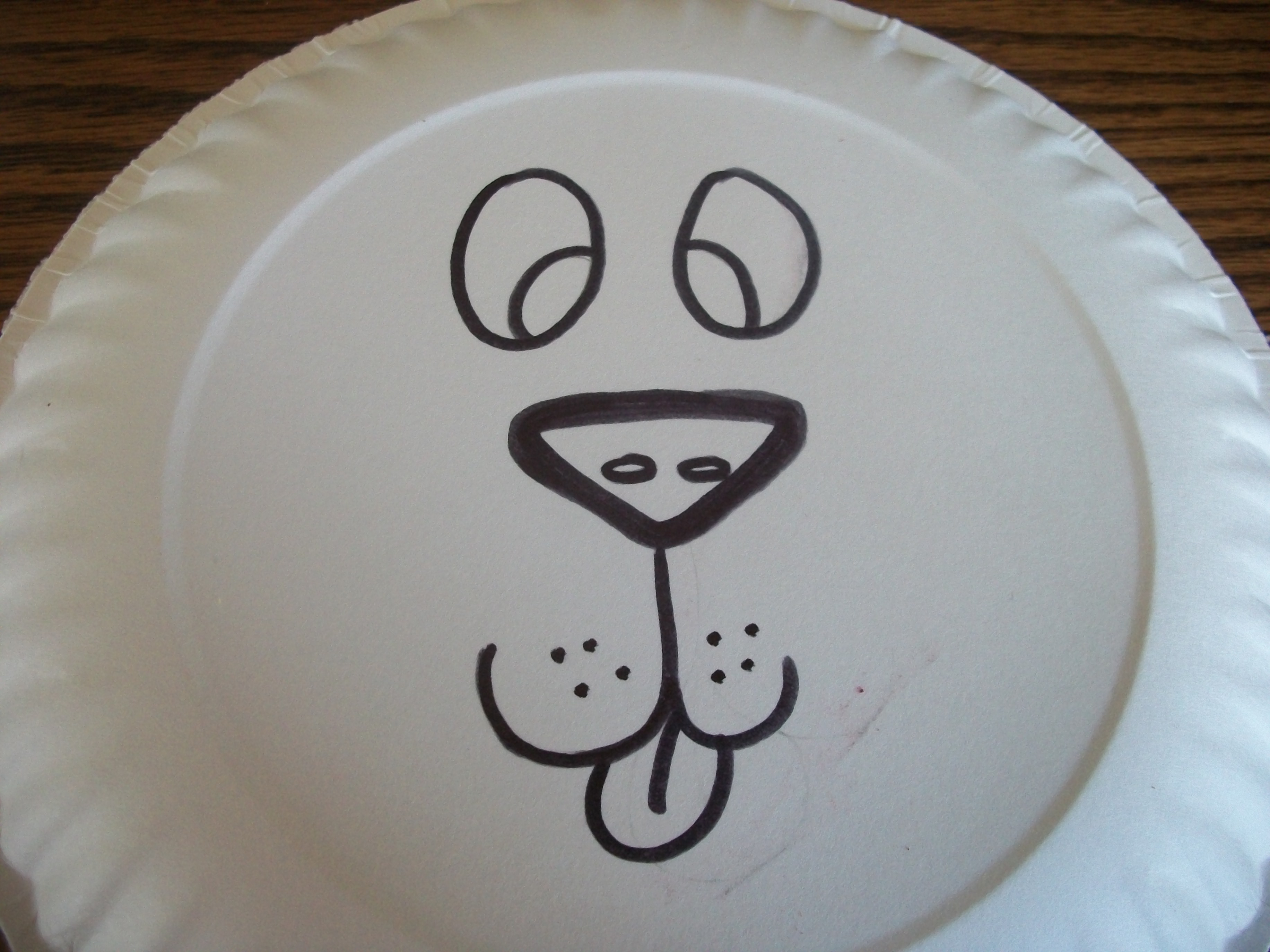 Draw A Lions Face Onto Your Paper Plate Obviously Im