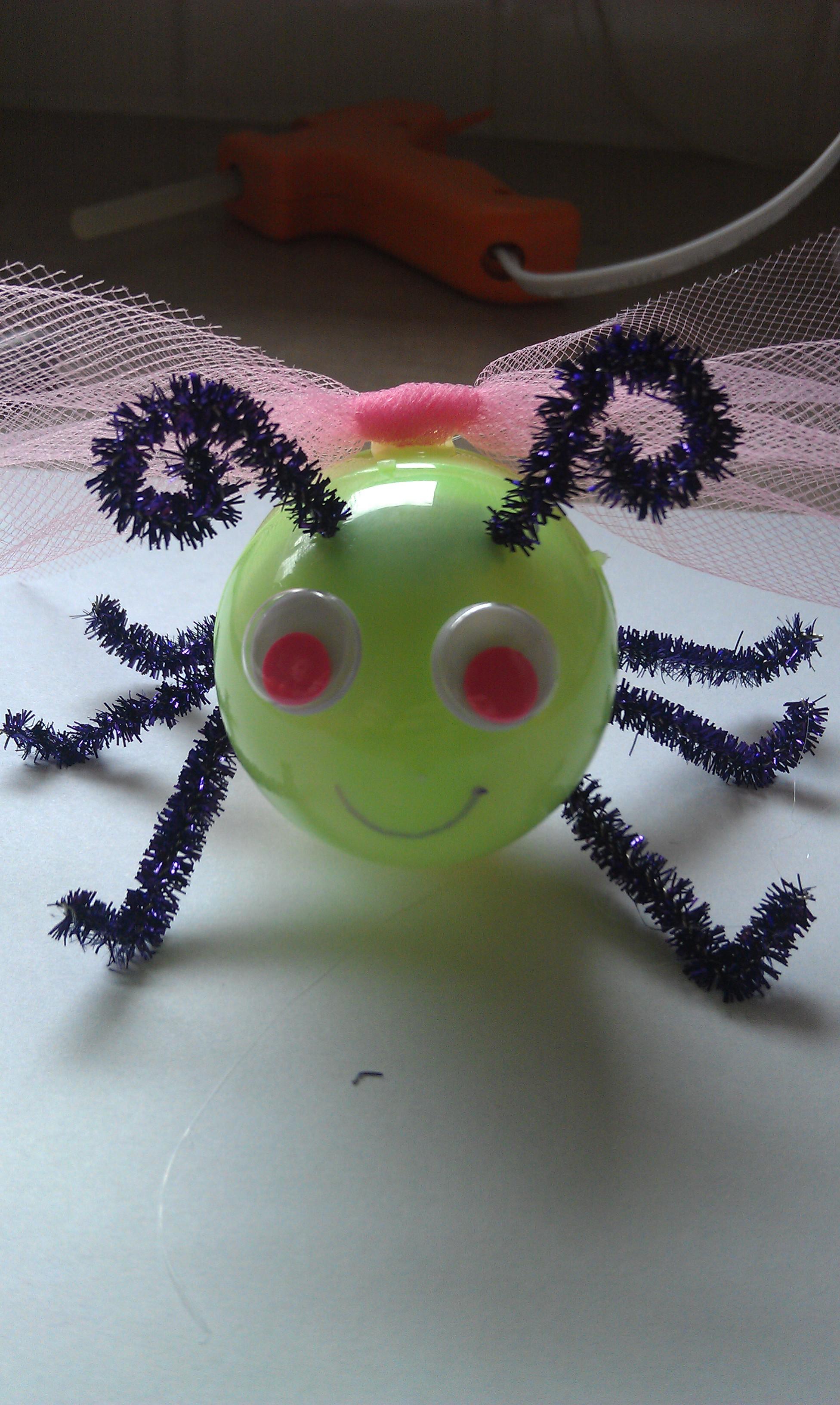 Easter Egg Lightning Bug Craft Face