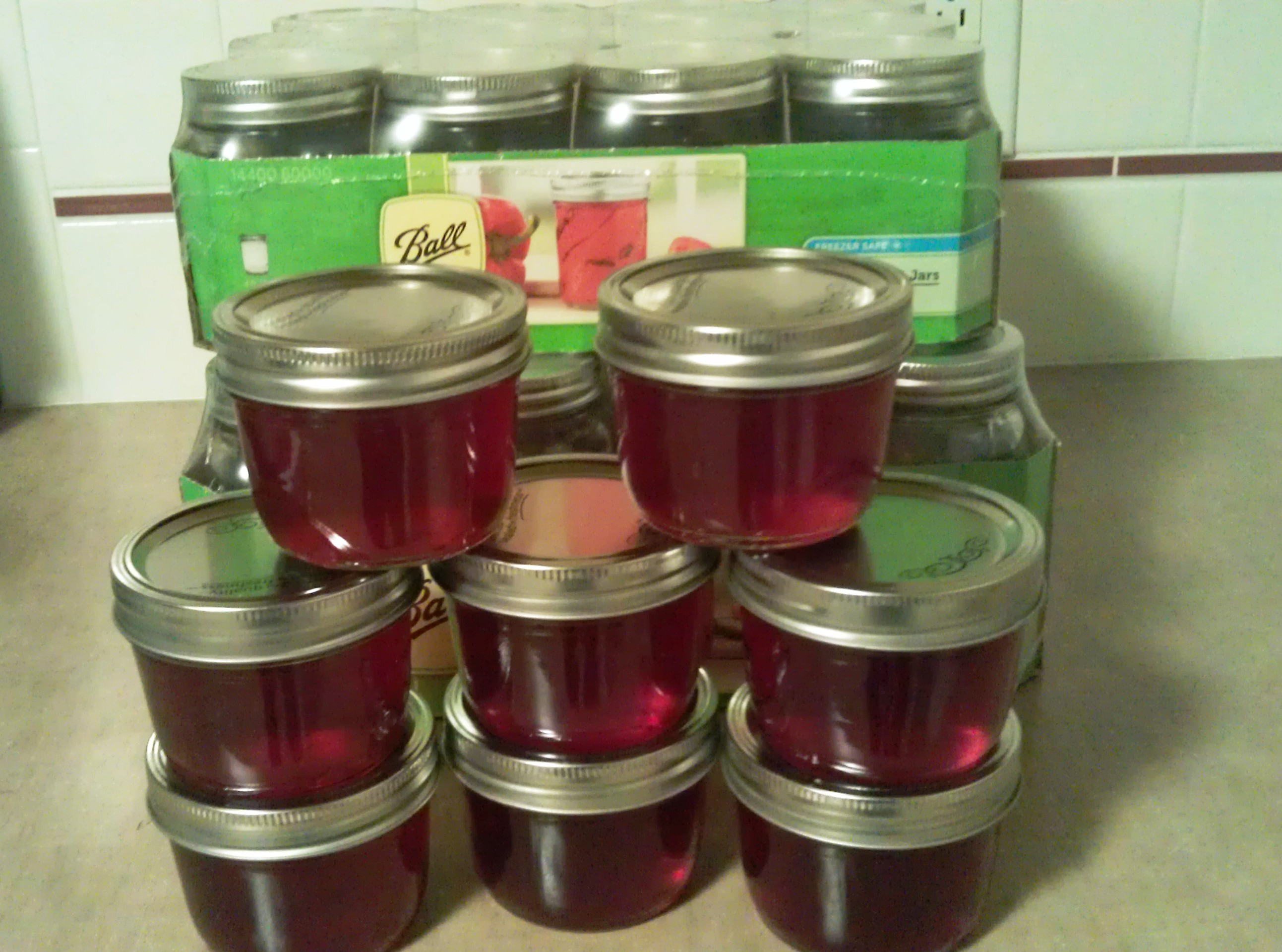 Home Made Jelly Without The Corn Syrup