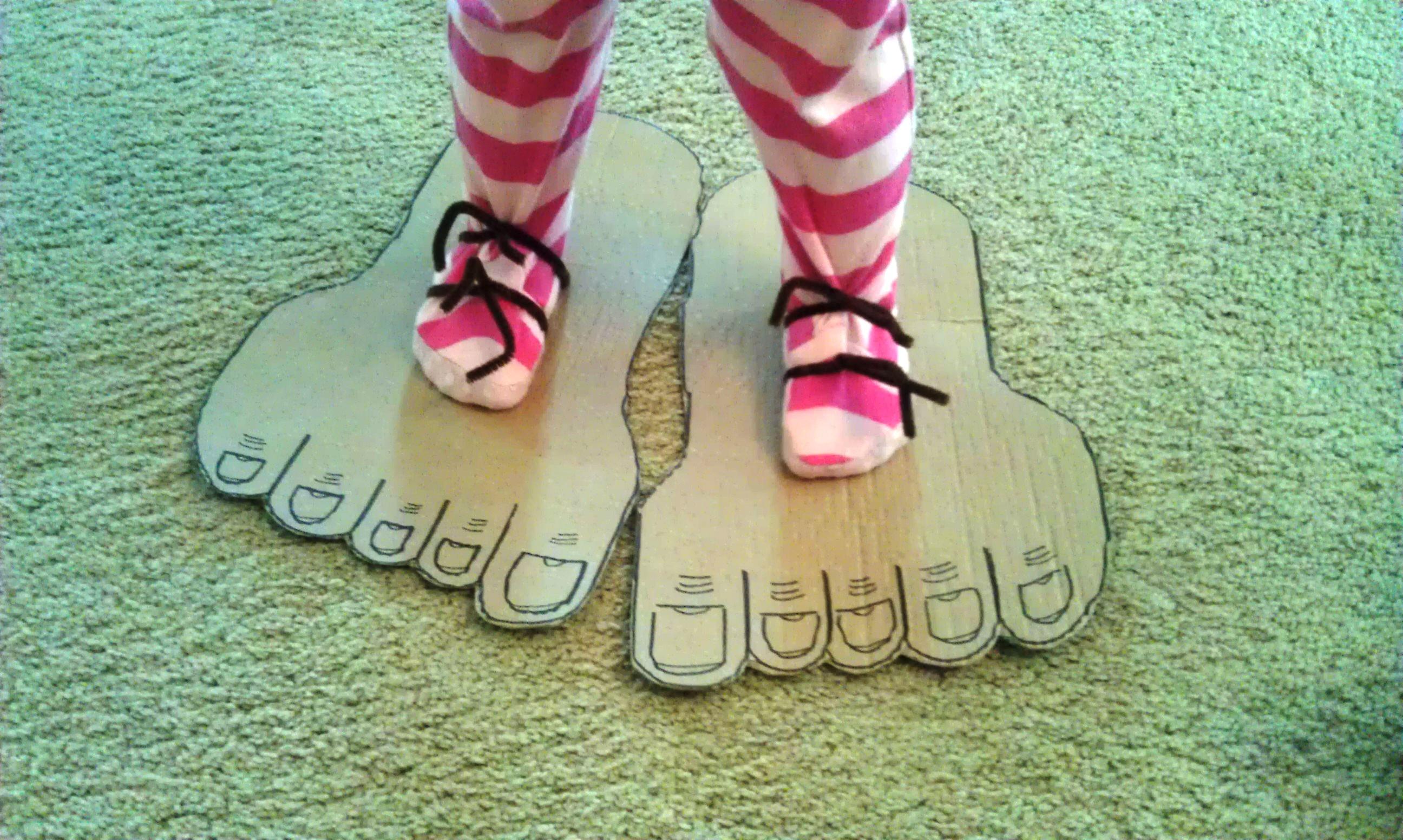 Stomping Feet Craft