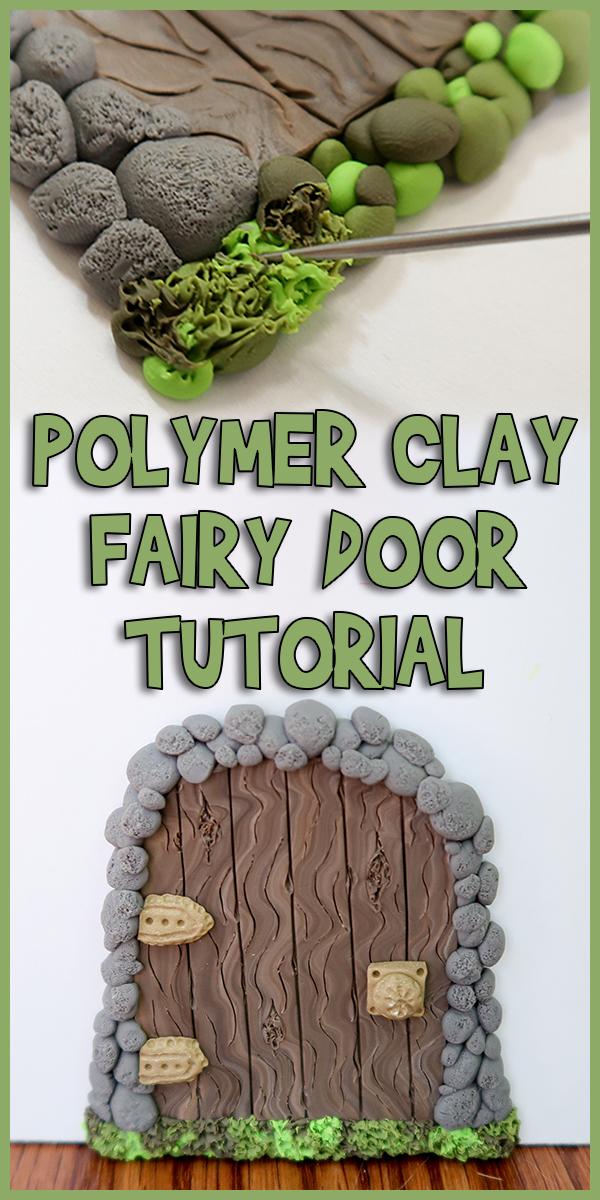 Polymer Clay Fairy Door Tutorial Woo Jr Kids Activities