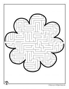 Fun Flower Shaped Printable Mazes For Kids Woo Jr Kids