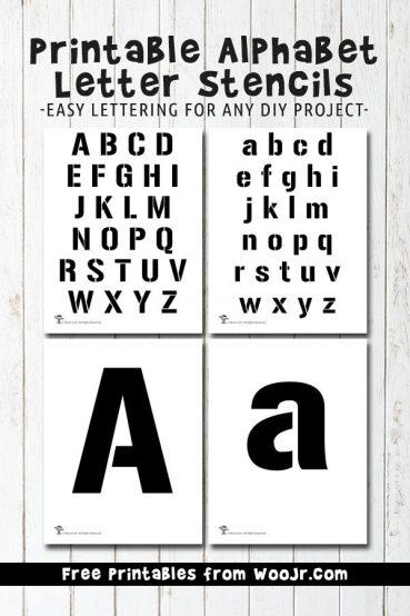 Bubble Letter Alphabet Worksheets
