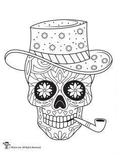 skulls coloring pages # 10