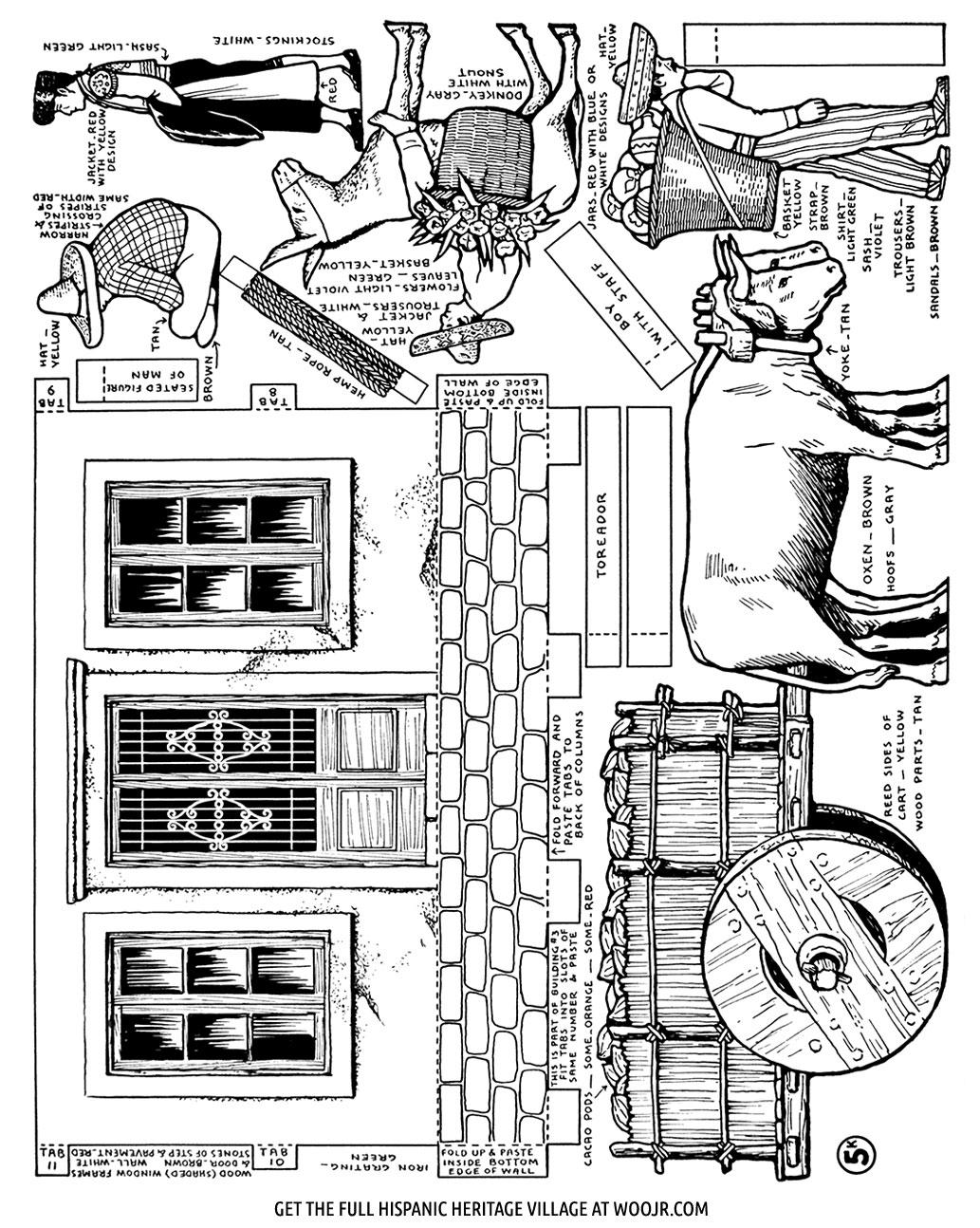 Hispanic Heritage Month Craft Page 5