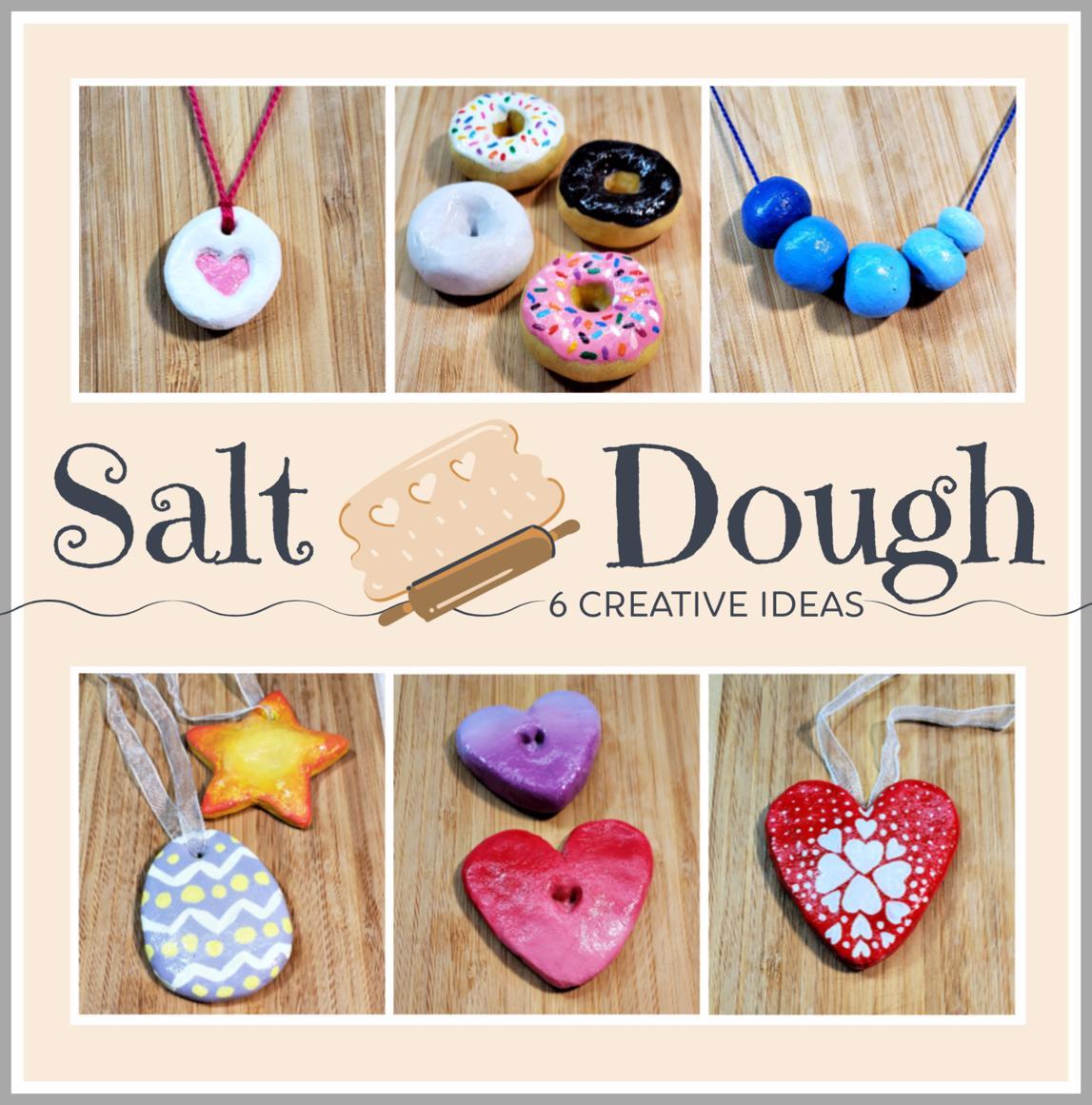 6 Easy Salt Dough Craft Ideas
