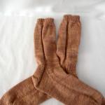 Earl Grey Socks FO 1