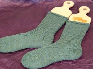 Good for shaping socks