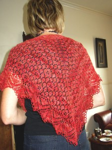A really pretty shawl