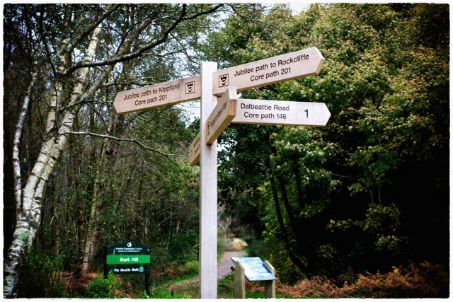 There is a wealth of good walking around here, some of it is actually well signposted