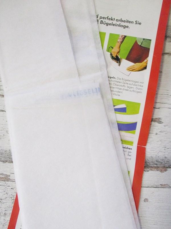 Bügeleinlage Vlieseline 60x70cm - Woolnerd