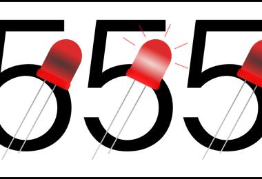 Blink 555 Schematic