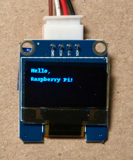 Raspberry Pi Display Text
