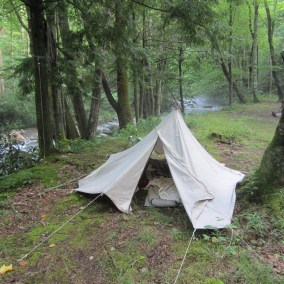 Natural Fiber Sleeping Systems for Backpacking