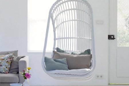Tuinstoel Hangend Ei.Hangende Tuinstoel Simple Retro Hangende Heater Cm Mat Cobalt W