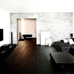 Dunkle Mobel In Einem Hellen Wohnzimmer Wirken Extrem Modern Wohnidee By Woonio
