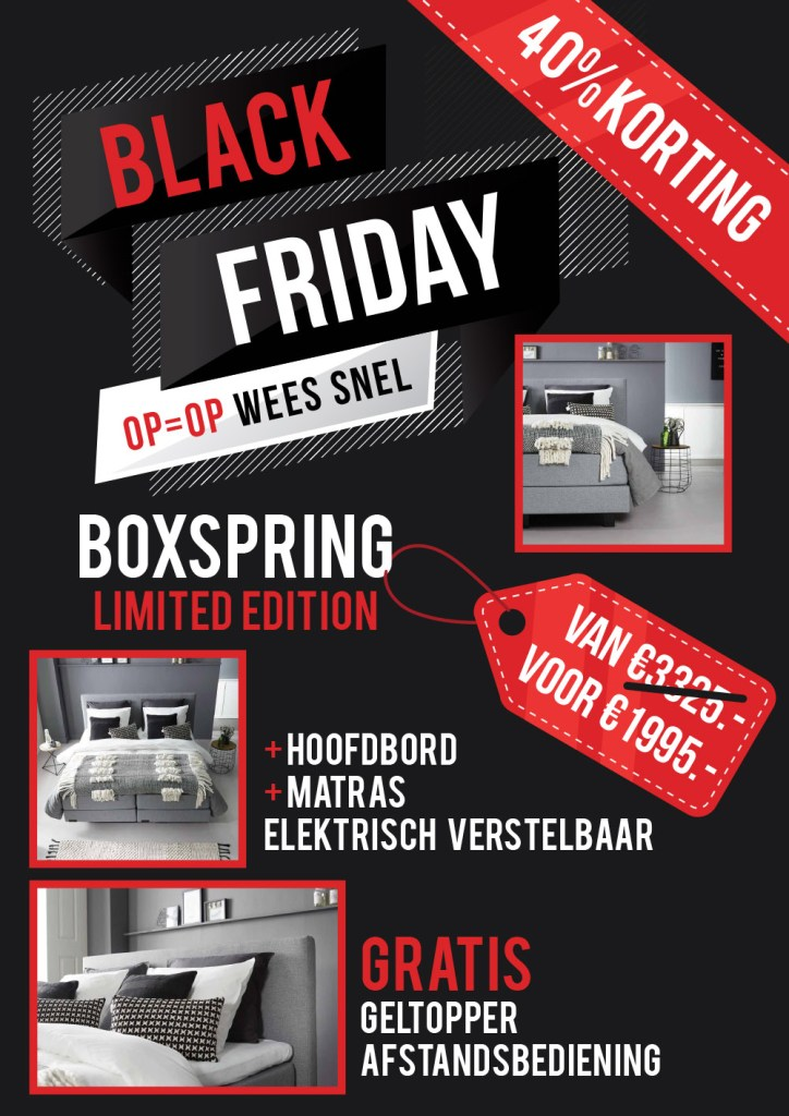 Black Friday Boxspring