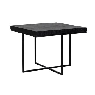 Hoektafel Oakura 60x60 (Zwart)