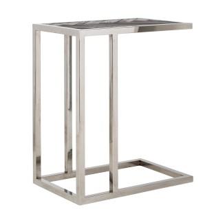 Sofa tafel Blackbone silver (Zilver)