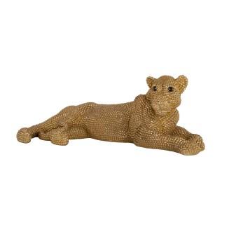 Lion deco object (Goud)