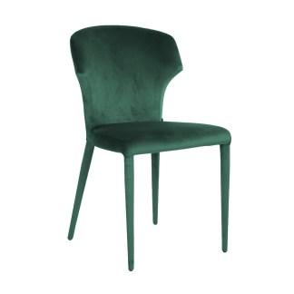 Stoel Piper Green Velvet (Quartz Green 501)