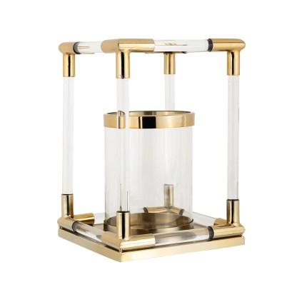 Windlicht Barton goud klein (Goud)