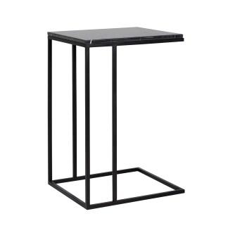 Sofa tafel Fairmont black marino (Zwart)
