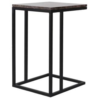 Sofa tafel Dalton brown emperador (Bruin)