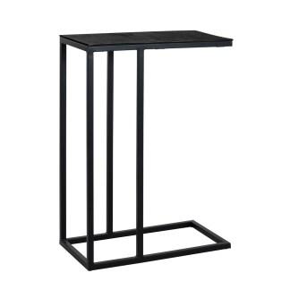 Sofa tafel Bolder aluminium zwart (Zwart)