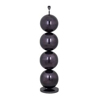 Vloerlamp Adney black nickel (Zwart)