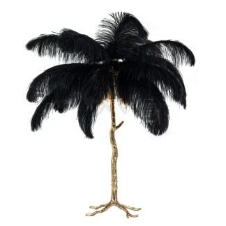Tafellamp Upanova zwart (Zwart)