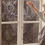 zeepdecoratie op je raam