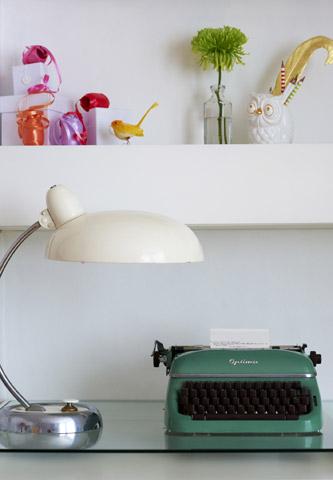 een typemachine volgens Jonathan Gooch