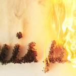 je ne suis pas pyromane