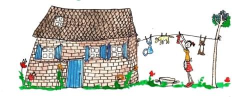 viltster uit het huis met de blauwe luiken...
