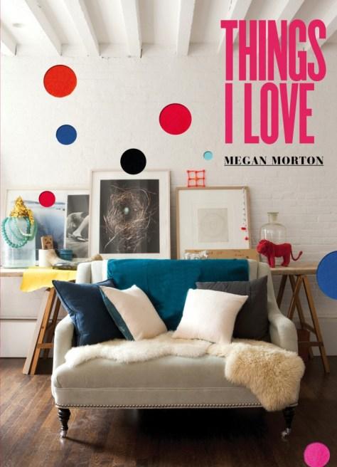 boek 'Things I love' van Megan Morton