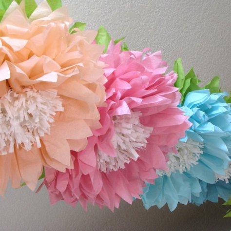 een bloemenzee via een etsy shop