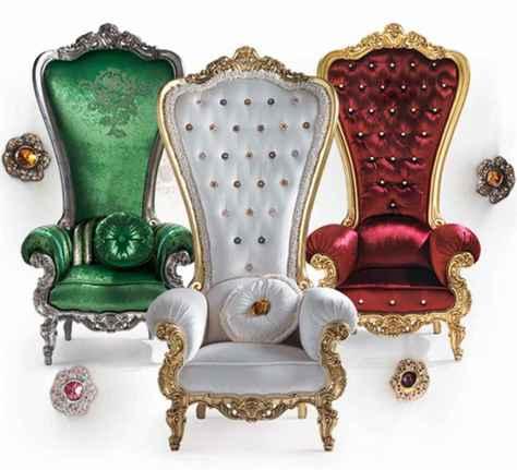 the throne van Caspani