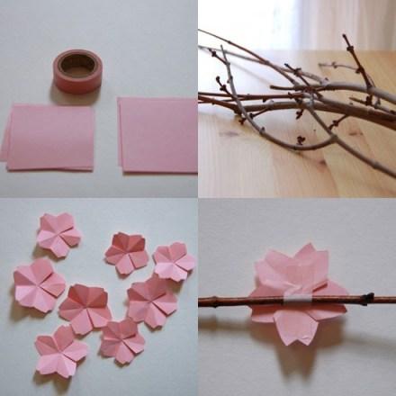 origami voor bloesem via bloesemkids