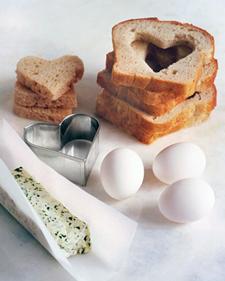 hartjes boterham voor moederdag via martha stewart