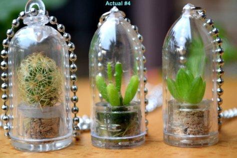 ketting met een cactus via etsy