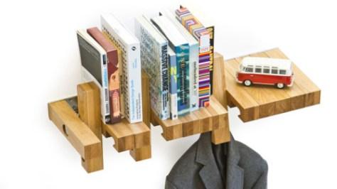 multifunctionele boekenplank via andviceversa