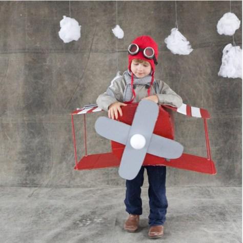 vliegtuig kostuum via ohhappyday