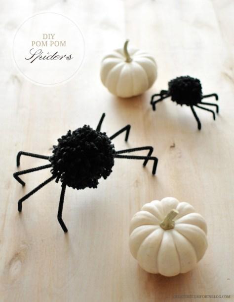 DIY plan voor pompom spinnen