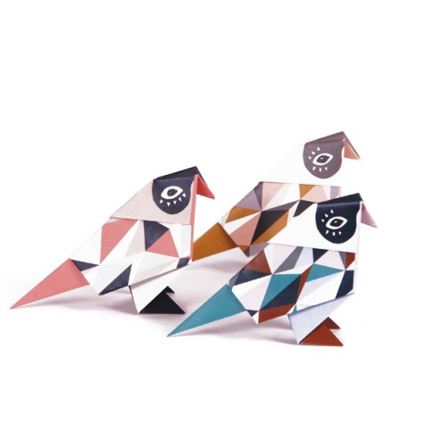 origami birds via Djello