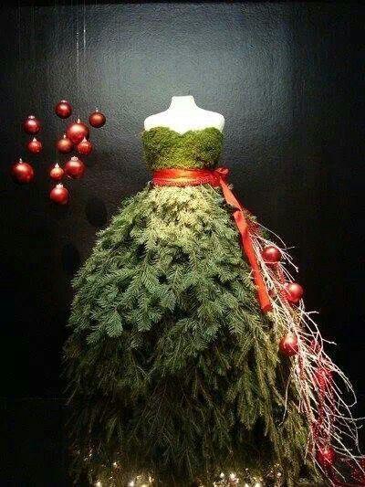 een mooie kerstgewaad