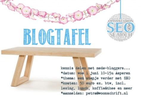 bloggerstafel