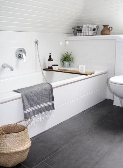 een sfeervolle badkamer