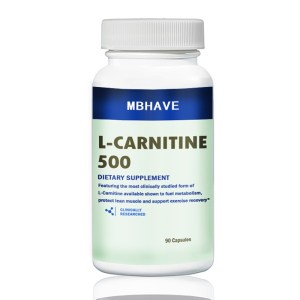 MBHAVE ACETYL-L CARNITINE 1000mg 90 CAPS - ENERGY AND WEIGHT LOSS